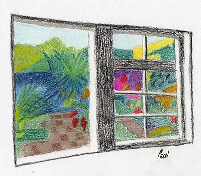 A Summer Garden by Bav Patel