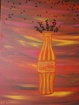 A sunny version of Coca Cola  by Tania  Katzouraki