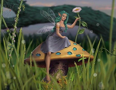 A Very Fairy Morning by Haley Gresham