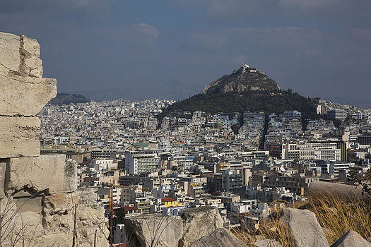 A View of Athens by Luca Diana