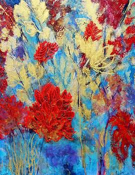 A Walk in the Garden by Faye Silliman