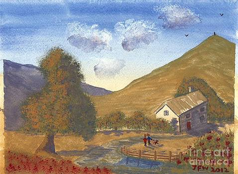 A walk in the Hills by John Williams