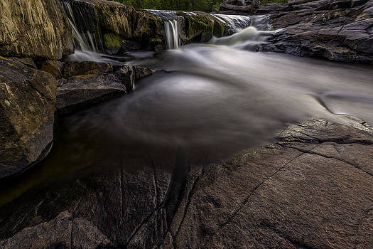 A waterfall by Nebojsa Novakovic