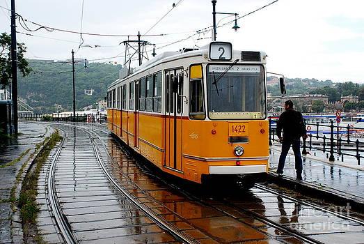 Joe Cashin - A wet day in Budapest
