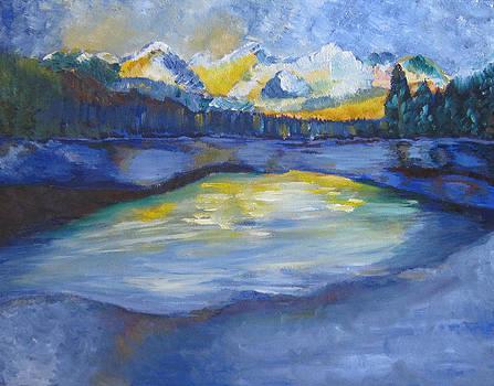 A Winter Evening by Prasida Yerra
