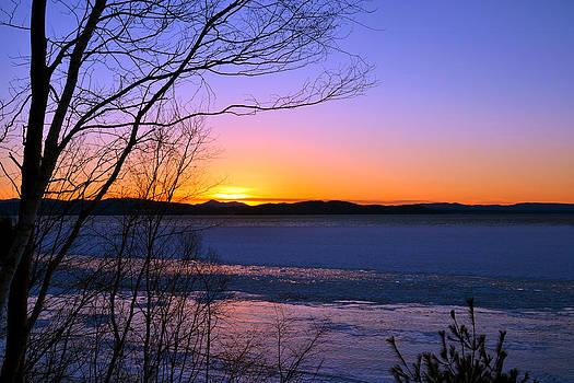 A Winters Horizon by Wendell Ducharme Jr