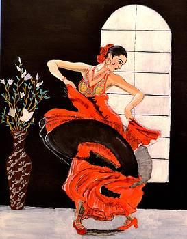 A Womans Dance by Salomi Prakash