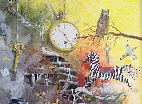 A Wonderland Scene by Jackie Mueller-Jones