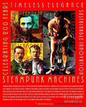 Wingsdomain Art and Photography - A Word From The CEO Steampunk Machines Celebrating 200 Years 20140515 Red v2