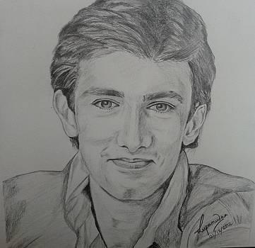 Aamir Khan by Lupamudra Dutta