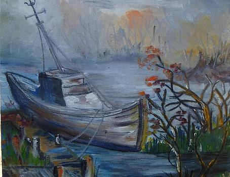 Abandoned boat    by Daniela Nedelea