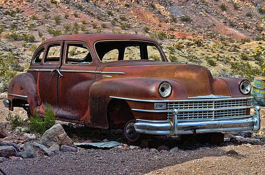 Abandoned Car Nelson NV by Arnold Despi
