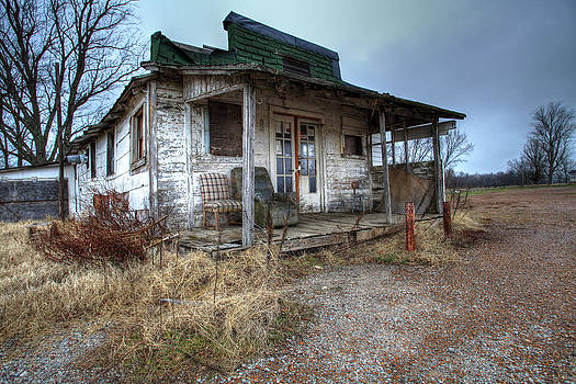 Abandoned Country Store by Teresa Moore