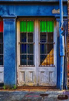 Kathleen K Parker - Abandoned Doorway - French Quarter