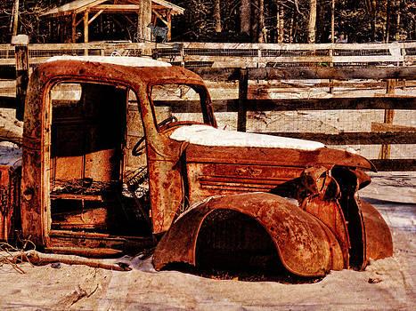 Pamela Phelps - Abandoned Farm Truck