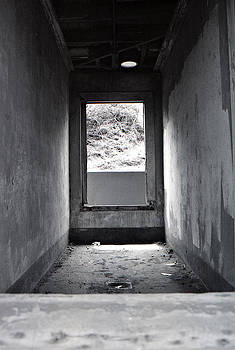 Abandoned Fort - View of a Room at Marin Headlands by Gemma Geluz