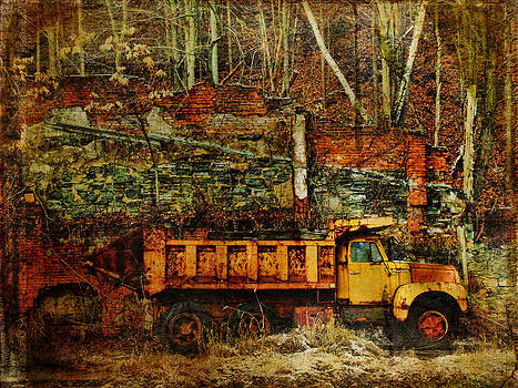 Pamela Phelps - Abandoned Kiln and Truck