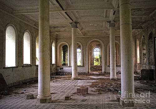 Abandoned Monastery by Mount Athos