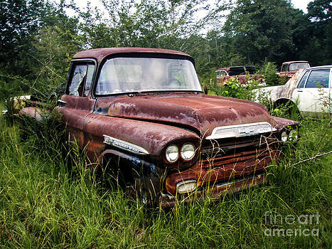 Abandoned Truck by Michelle Burkhardt