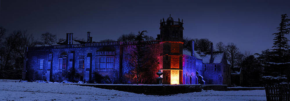 Abbey at night by John Chivers