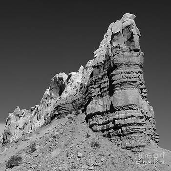 David Gordon - Abiquiu Landscape VI BW SQ