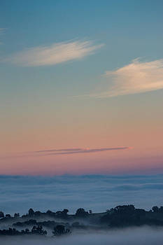 Above the clouds by Davorin Mance