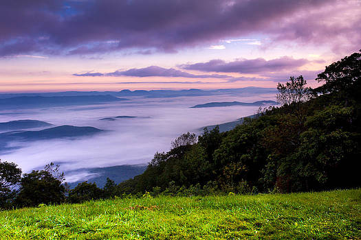 Above The Clouds by Everett Houser