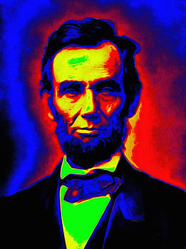 Steve K - Abraham Lincoln Pop Art