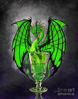 Absinthe Dragon by Stanley Morrison