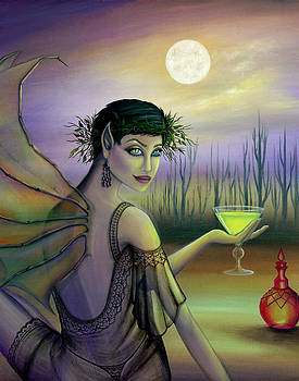 Absinthe Fairy by B K Lusk