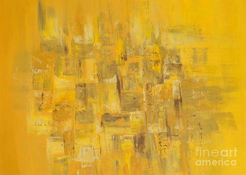Abstrac yellow  by Lalo Gutierrez