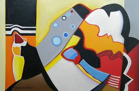 Abstract 107 by Chico Tupynamba