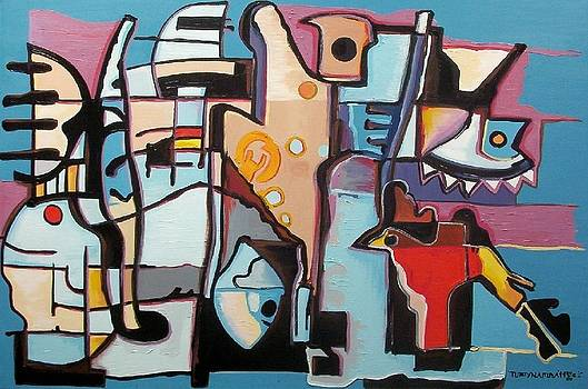Abstract 110 by Chico Tupynamba