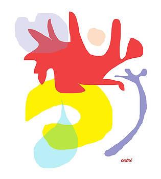 Anne Cameron Cutri - Abstract Ala Matisse 1