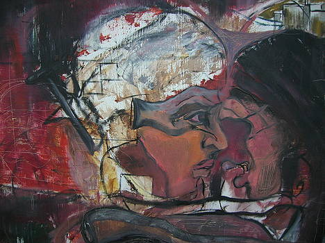 Abstract and painterly by Andrea HJERPE