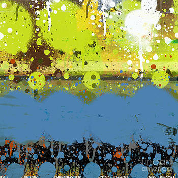 Ricki Mountain - Abstract Art Big Dot