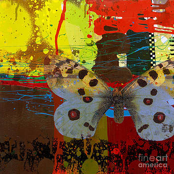 Ricki Mountain - Abstract Art Butterfly Social