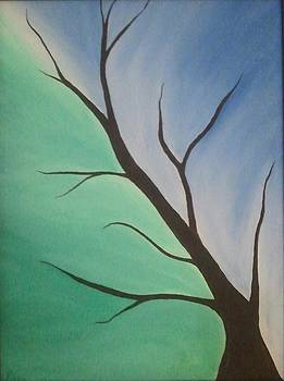 Abstract Art - Tranquility by Pallavi Talra