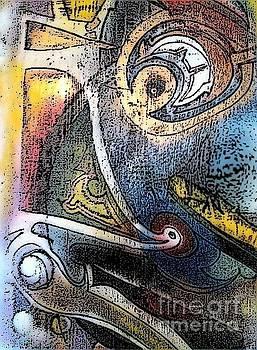 Abstract Art0s eye by Luksa Obradovic