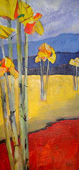 Abstract Aspen by Sally Bullers