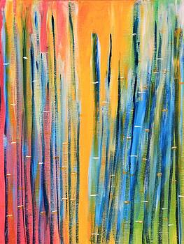 Abstract Bamboo  by AR Annahita