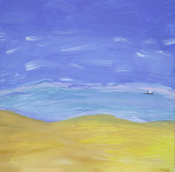 Abstract Beach by Martin Blakeley