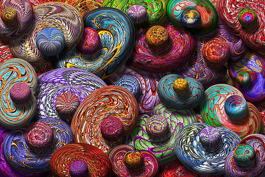 Mike Savad - Abstract - Beans