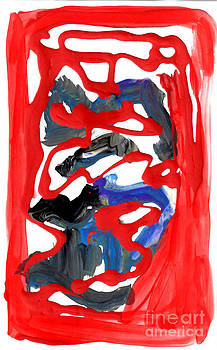 Anne Cameron Cutri - Abstract Blood Cover Up
