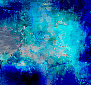 Abstract Blue by Alma Yamazaki