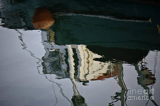 Dave Gordon - Abstract Boat Reflection II