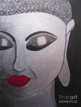 Abstract Buddha by Priyanka Rastogi