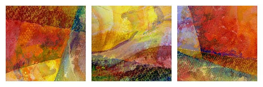 Michelle Calkins - Abstract Collage No. 1