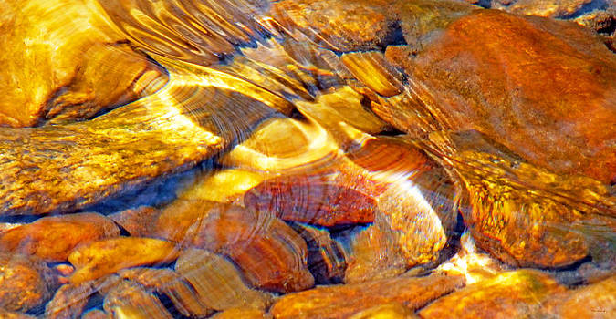 Abstract Creek Water 4 by Duane McCullough