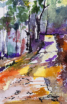 Ginette Callaway - Abstract Forest Path #2
